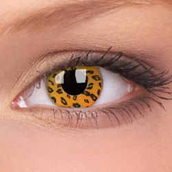 Lentile de contact Crazy Lens Yellow Leopard