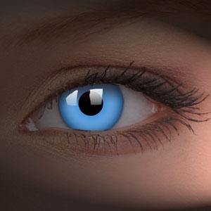 Lentile de contact Glow Blue