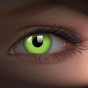 Lentile de contact Glow Green