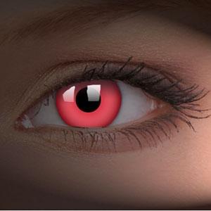 Lentile de contact Glow Red