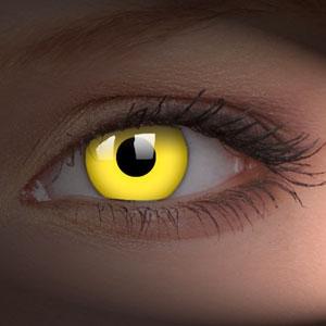 Lentile de contact Glow Yellow