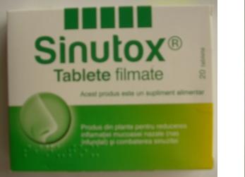 Sinutox Tablete