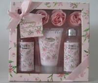 Set floral Pink