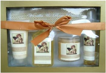 Set cadou SPA Classic Angel cu Vanilie si Petale de Trandafir