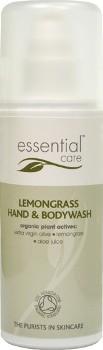 Gel de Dus si Sapun Lichid Organic cu Lemongrass