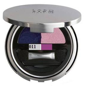 Fard Pleoape Duo Labo Stem - 011 Pale Grey / Purple