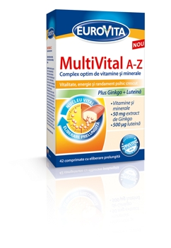 Eurovita MultiVital A-Z+Eurovita Magneziu B COMPLEX