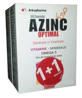 AZinc 45 + Arkopharma 2+1 Gratis
