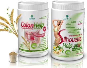 Colon Help+Silhouette Help ceai pentru slabit 450gr
