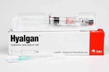 Hyalgan Sol Inj 20 mg/2 ml