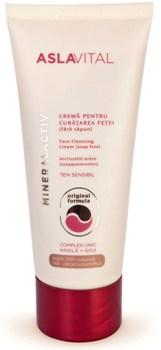 Aslavital MineralActiv Crema pentru Curatarea Fetei (fara sapun)