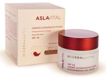 Aslavital MineralActiv Crema ultraprotectoare SPF 50