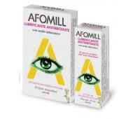 Afomill Lubrifiant-Antiiritant cu acid hialuronic (fiole monodoza)