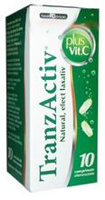 Tranzactiv Plus Vitamina C x 10 cpr efervescente