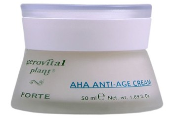 Gerovital Plant Forte Crema anti-age cu acizi din fructe