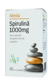 Spirulina 1000 mg *45 cps, Alevia