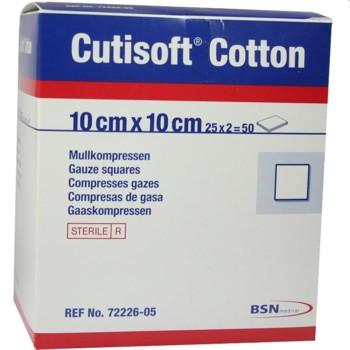 Cutisoft Cotton Steril 10 cm x 10 cm