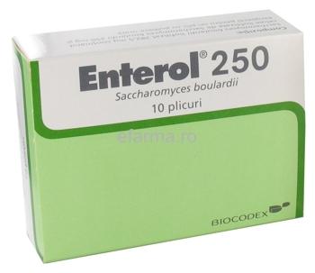 Enterol Plicuri de 250 mg