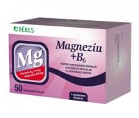 Magneziu + B6 x 50 cpr