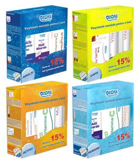 Pachet Activi Vitamine Ozone