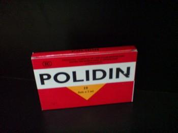 Polidin fiole