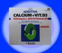 Additiva Calciu Cu D3 pulbere gust lamaie