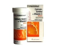 Calciu Sandoz cu Vitamina C 1000 mg LIPSA STOC