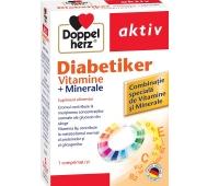 Doppelherz Aktiv Vitamine pentru Diabetici x 30 cps