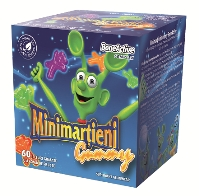 Minimarţieni Gummy Boneactiv X 60 jeleuri