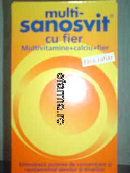 MultiSanosvit cu Fier STOC 0