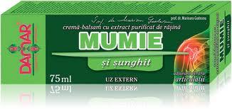 Mumie Crema cu Sunghit x 75 ml