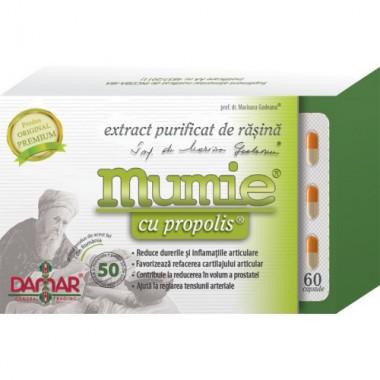 Extract Purificat de Rășină Plus Propolis x 60 cps