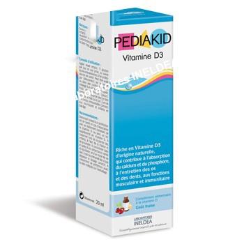 Pediakid Vitamina D3 picaturi x 20 ml
