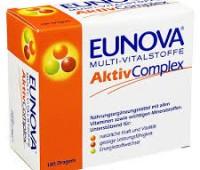 Eunova Aktiv Complex x 180 drj