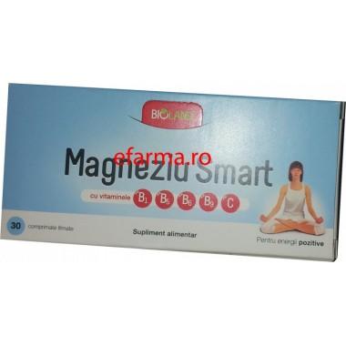 Magneziu Smart x 30 cps