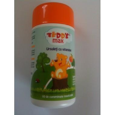 Teddy Max Comprimate Masticabile x 60 cpr