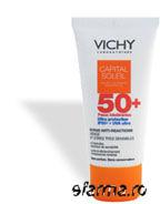 Vichy Capital Soleil - Lapte gel Impotriva Reactiilor Solare pentru Corp IP50+