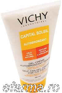 Vichy Capital Soleil - Lapte autobronzant pentru corp