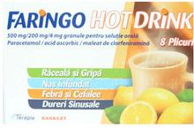 Faringo Hot Drink x 8 plicuri