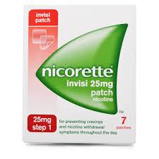 Nicorette Patch 25 mg/16 ore Plasturi Impotriva Fumatului