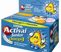 Actival Junior Omega 3 x 30 cps masticabile