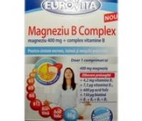 Eurovita Magneziu B complex x 42 cpr