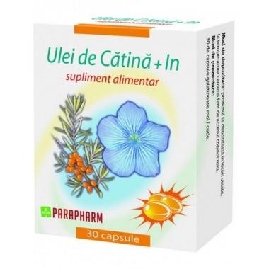 Ulei de Catina+In x 30 cps 1+1 oferta