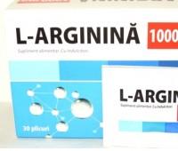 L-Arginina 1000mg x30 plicuri