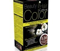 Beauty Hair Creme COLOR 5.34 saten deschis luminos