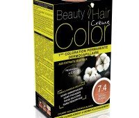 Beauty Hair Creme COLOR 7.4 blond maron cald