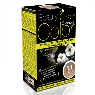 Beauty Hair Creme COLOR 8.1 blond deschis cenusiu