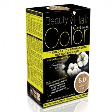 Beauty Hair Creme COLOR 8.0 blond deschis