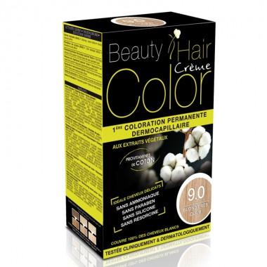 Beauty Hair Creme COLOR 9.0 blond foarte deschis
