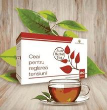 Sun Herbal Tea Ceai pentru reglarea tensiunii x 20 pl